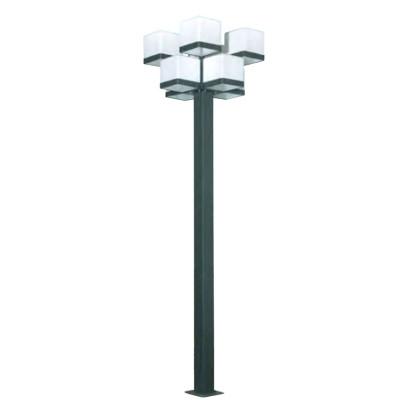 Landscape light pole light LED module 8*18W CFL E27 8*23W~36w 10 light heads WD-T265