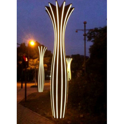 landscape light pole light garden light SMD LED whole pole luminous vase design modern styleTFB custom lighting WD-T437