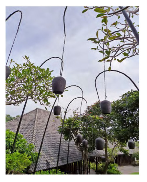Landscape lamp Garden Lighting pole light bent pole modern design pot light head modern design special design WD-T311