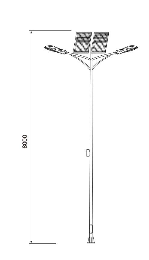 Street light/road lamp/Wind-solar hybrid generator