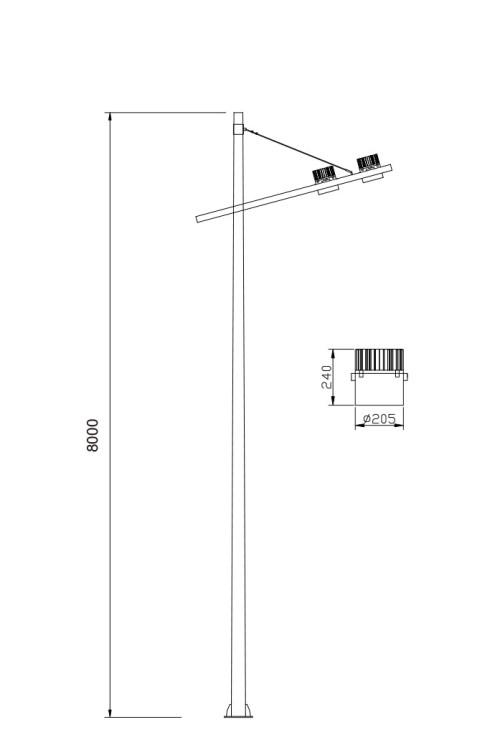Street light/road lamp