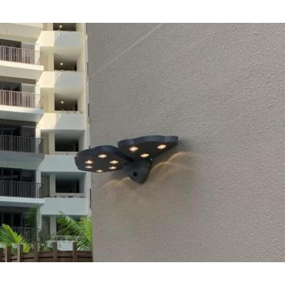 outdoor wall lamp customized butterfly flower wall light modern style CREE LED 16W Meanwell driver