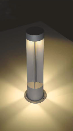 Lawn lamp/15w/3500K/ 4 ways lighting direction bollard light gentle lights hot sale special design modern design Wd-C253