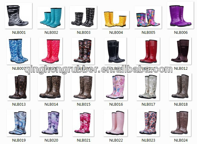 size 12 women plastic rain boots - china Pvc Fashion Women boots ...