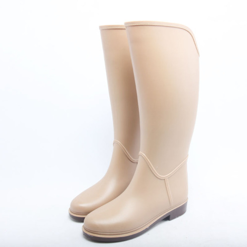 China supplier Fashion women rain boots wholesale wellies in high ...