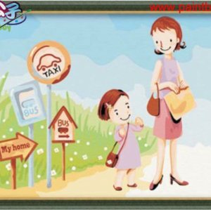 yiwu art suppliers factory oil painting by numbers Painting for kids
