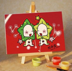 Paint by numbers A091 constellation design chindren painting kit