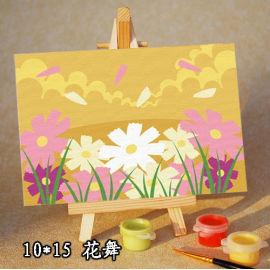 Dibujo por los números 10 * 15 cm pintura al óleo niño kit XSX A040