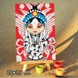 Diy pintura por números - EN71-3 - ASTMD-4236 de acrílico pintura - pintura 10 * 15 cm
