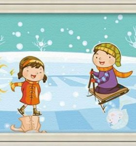 C010 children design painting on canvas digital oil painting jia cai tian yian wholesales