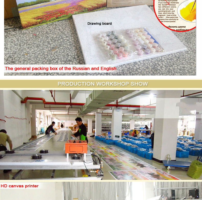 2014 Factory direct sale high quality paint by numbers