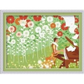 Paintboy malen nach zahlen-sets Frühlingsblume Bild leinwand Ölgemälde