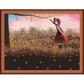 Fabrik verkaufen ce Bild von Reihe, kleines Mädchen Bild Öl malen nach zahlen
