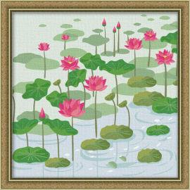 Farbe für die malerei setzt- en71-3- astmd- 4236- junge 30*30cm acrylfarbe malen