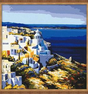 diy painting by numbers - EN71-3 - ASTMD-4236 acrylic paint - paint boy 40*40cm