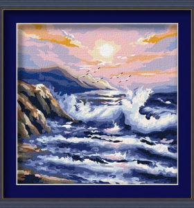 diy oil painting by numbers - EN71-3 - ASTMD-4236 acrylic paint - paint boy 40*40cm