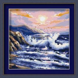 Diy pintura al óleo por números - EN71-3 - ASTMD-4236 de acrílico pintura - pintura 40 * 40 cm