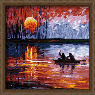 diy painting with numbers - EN71-3 - ASTMD-4236 acrylic paint - paint boy 40*40cm