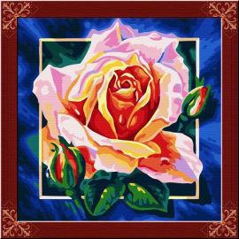 Aceite abstracto de las flores pintura - EN71-3 - ASTMD-4236 de acrílico pintura - pintura 40 * 40 cm