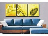 triple oil painting by numbers 3pcs group painting for home deco