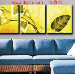 New style Paint by numbers P009 flower design picture painting on canvas