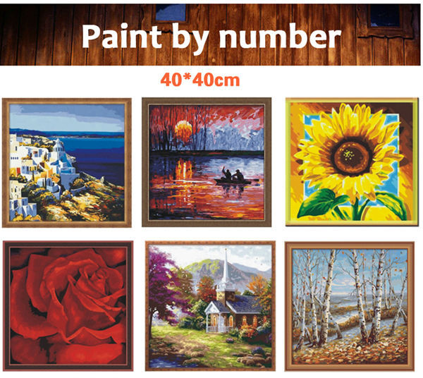 diy paint with numbers - EN71-3 - ASTMD-4236 acrylic paint - paint boy