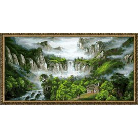 h059 naturel Landschaft Größe leinwand malen nach zahlen yiwu fabrik großhandel