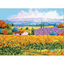 Kunst liefert- Leinwand, acrylfarbe- Öl malerei anfänger Kit- landschaftsmalerei