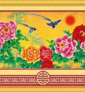 canvas oil painting flower picture painting - manufactor - EN71,CE,SGS - OEM