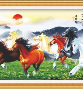 2015 abstract horse painting diy oil painting by numbers - manufactor - EN71,CE,SGS - OEM