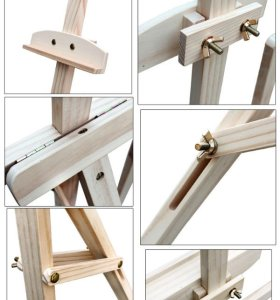 high quality wood Painting Easel