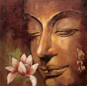 new products hot photo buddha abstract oil paintings on canvas for room decor