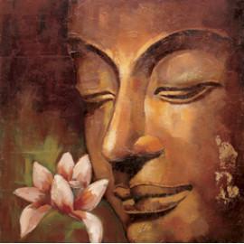 neue produkte heißen foto buddha abstrakte Ölgemälde auf leinwand für raumdekor