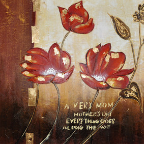 new products hot photo famous lotus flower painting on canvas for room decor