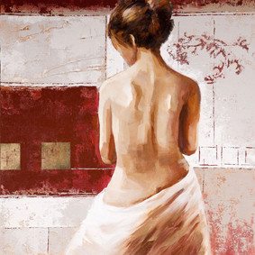 New products hot nude girls photos sexy oil painting for home decor