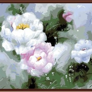 painting by numbers - manufactor - EN71,CE,2015 factory new flower design GX6079