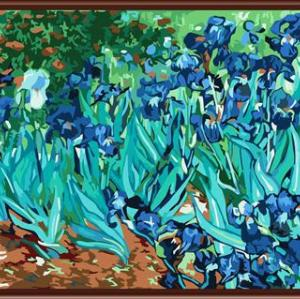 GX6445 YIWU factory wholesales art suppliers 2015 new nature landscape flower desgn painting by numbers