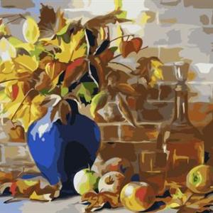 still life flower diy oil painting by number GX6763