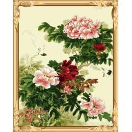 kunst lieferanten diy wandkunst malen nach zahlen blumen chinesische malerei für wohnkultur gx7526