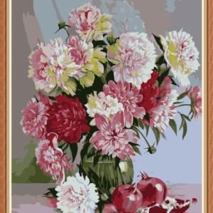 Paintboy DIY flower digital oil painting GX7777
