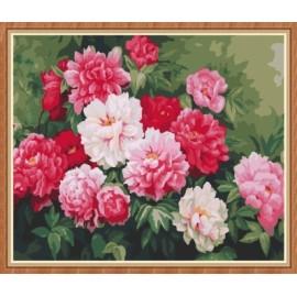 Pintura de la flor by números GX7857