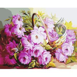 Gx7916 paintboy digital de DIY arte de la pared flores en florero moderno pintura al óleo en lienzo enmarcado para los niños