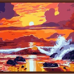 wholesale factory new design Paintboy DIY digital oil painting by numbers on canvas GX6068