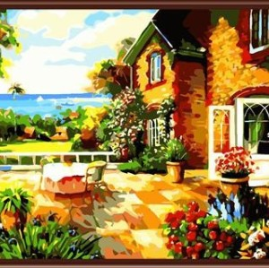 wholesale best selling new design Paintboy DIY digital oil painting by numbers for beginners on canvas GX6053