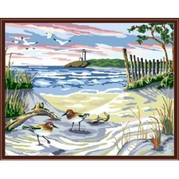großhandel diy Öl malen nach zahlen abstrakte gemälde gx6159
