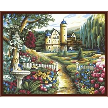 Leinwand Ölgemälde kunst, diy Öl malen nach zahlen, heißer verkauf malen nach zahlen gx6202