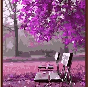 Wholesale SGS CE DIY digital acrylic oil painting by number new romantic design