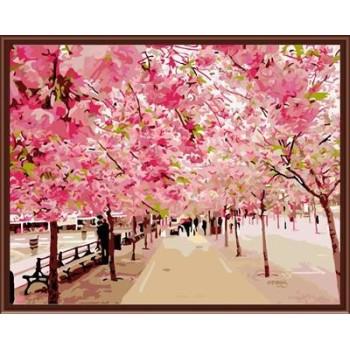 diy Landschaft digitale Ölbild auf leinwand mit holzrahmen gx6254