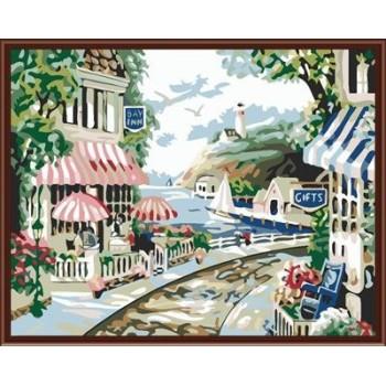 handbemalte modernen Ölgemälde von nummer yiwu manufaktur malerei auf leinwand gx6265