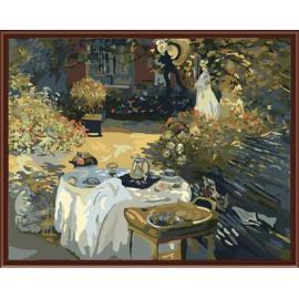abstrakte Natur hause Gartenlandschaft handbemalte Ölbild auf leinwand gemälde von nummer gx6411factory kunst lieferanten